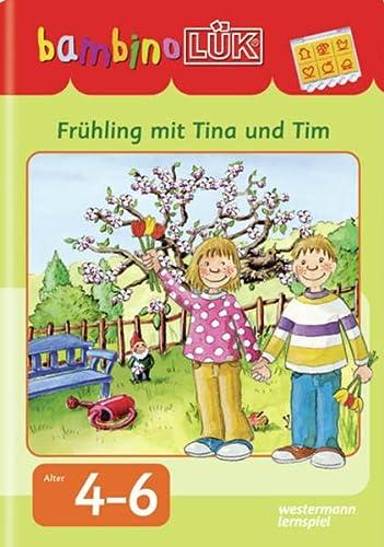 9783837779912: bambinoLÜK Frühling mit Tina und Tim: Frühling mit Tina und Tim