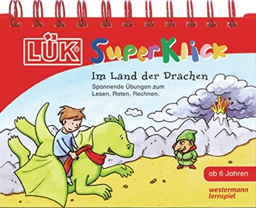 9783837781120: LÜK-SuperKlick. Im Land der Drachen: Übungen für Schulanfänger