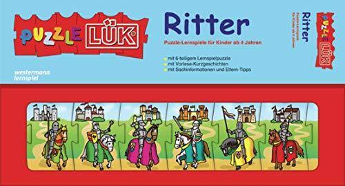 9783837783070: PuzzleLÜK. Ritter: Puzzle-Lernspiele