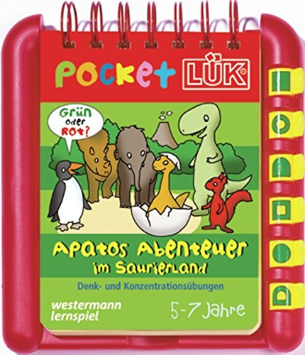 9783837785081: PocketLÜK-Set. Apatos Abenteuer im Saurierland: Denk- und Konzentrationsübungen