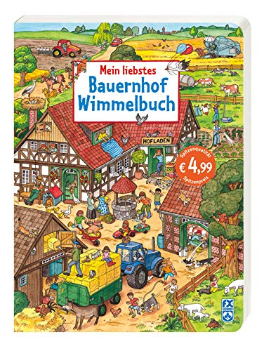 9783838000060: Mein liebstes Bauernhof-Wimmelbuch (Popular Fiction)