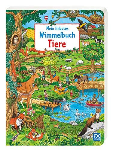 9783838000428: Mein liebstes Wimmelbuch Tiere