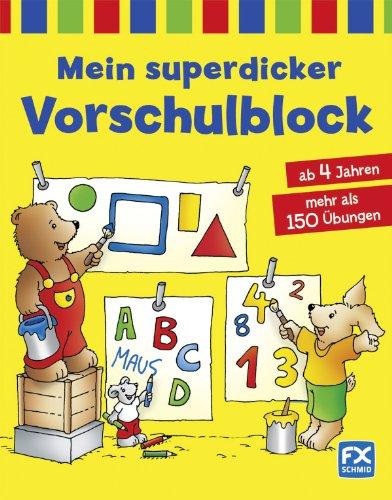 9783838030531: Mein superdicker Vorschulblock