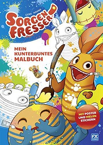 9783838070162: Gerd Hahns Sorgenfresser: Mein kunterbuntes Malbuch