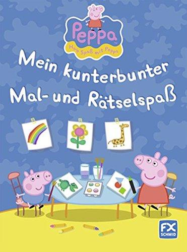 9783838070285: Peppa - Mein kunterbunter Mal- und Rätselspaß