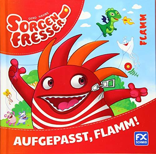 9783838070315: Gerd Hahns Sorgenfresser: Flamm - Aufgepasst, Flamm! ; Deutsch; durchg. farb. Ill. u. Text -