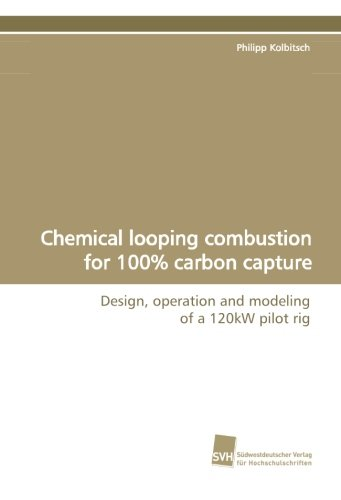 9783838106052: Chemical looping combustion for 100% carbon capture: Design, operation and modeling of a 120kW pilot rig (German Edition)