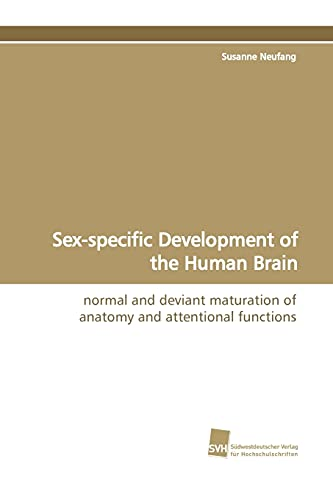 Sex-specific Development of the Human Brain: normal: Susanne Neufang