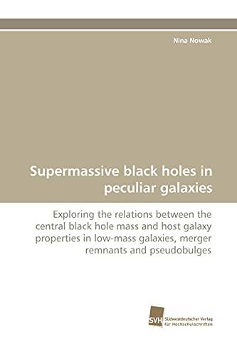 Supermassive Black Holes in Peculiar Galaxies: Nina Nowak