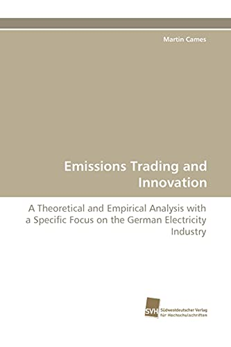 Emissions Trading and Innovation: Martin Cames