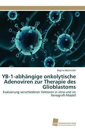 9783838116693: YB-1-abhängige onkolytische Adenoviren zur Therapie des Glioblastoms: Evaluierung verschiedener Vektoren in vitro und im Xenograft-Modell (German Edition)