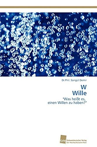 W Wille: Dr. Phil. Songül Demir