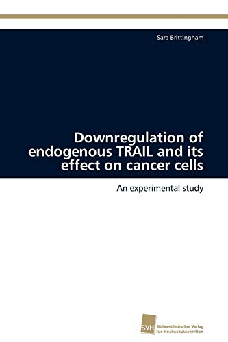 Downregulation of Endogenous Trail and Its Effect on Cancer Cells: Sara Brittingham