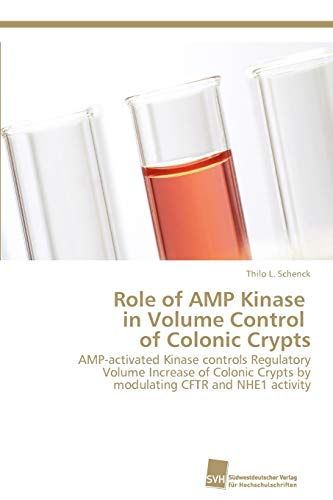 Role of Amp Kinase in Volume Control of Colonic Crypts: Thilo L. Schenck