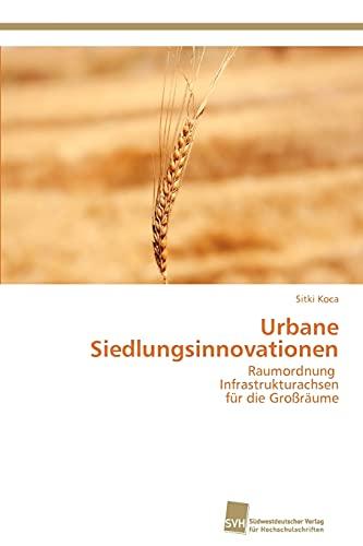 9783838132822: Urbane Siedlungsinnovationen