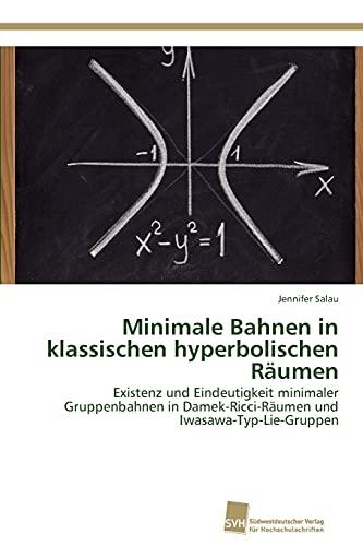 9783838133041: Minimale Bahnen in Klassischen Hyperbolischen Raumen