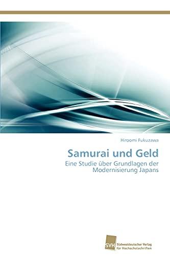 9783838133973: Samurai Und Geld
