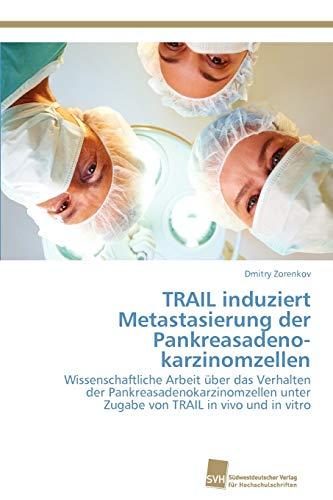 TRAIL induziert Metastasierung der Pankreasadenokarzinomzellen: Dmitry Zorenkov
