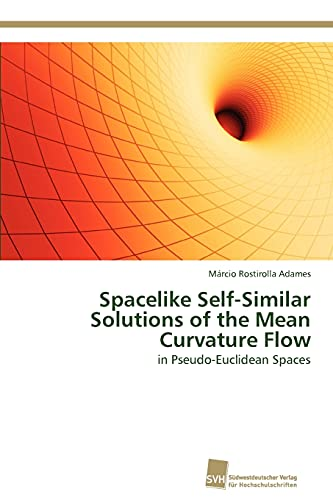 Spacelike Self-Similar Solutions of the Mean Curvature Flow: in Pseudo-Euclidean Spaces: Márcio ...