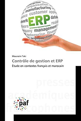 9783838141411: Contrôle de gestion et ERP: Étude en contextes français et marocain (French Edition)