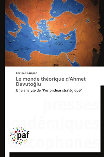 9783838143040: Le monde théorique d'ahmet davuto lu