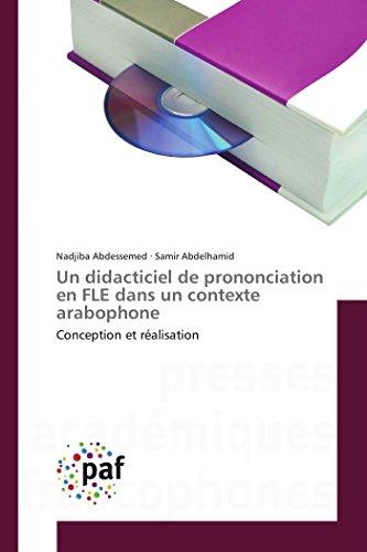 Un didacticiel de prononciation en FLE dans: Nadjiba Abdessemed