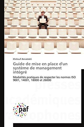 9783838144887: Guide de mise en place d'un système de management intégré
