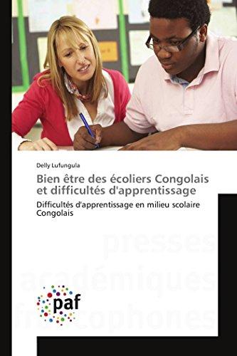 Bien être des écoliers congolais et difficultés: Lufungula-D