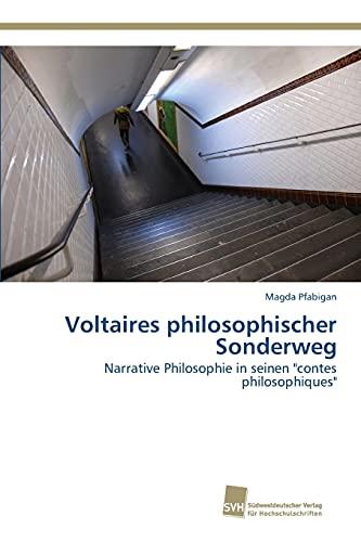 9783838151250: Voltaires philosophischer Sonderweg (German Edition)