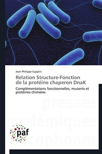 9783838170435: Relation Structure-Fonction de la protéine chaperon DnaK: Complémentations fonctionnelles, mutants et protéines chimères (Omn.Pres.Franc.) (French Edition)