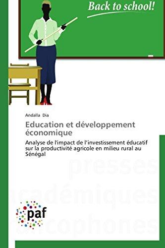 Education Et Developpement Economique: Andalla Dia