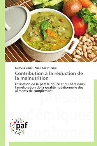 Contribution a la Reduction de La Malnutrition: Salimata Sidibe