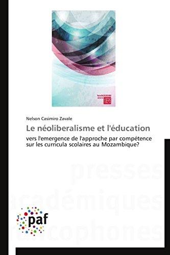 Le Neoliberalisme Et LEducation: Nelson Casimiro Zavale