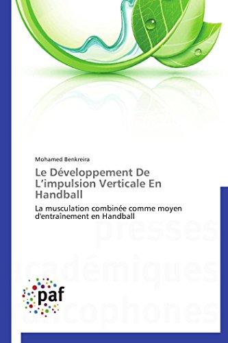 9783838178691: Le développement de l impulsion verticale en handball