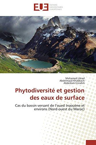 9783838186450: Phytodiversite Et Gestion Des Eaux de Surface (OMN.UNIV.EUROP.)