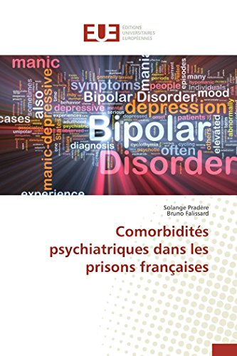 9783838186603: Comorbidites Psychiatriques Dans Les Prisons Francaises