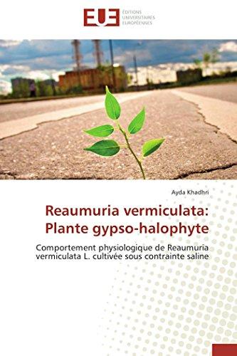 Reaumuria vermiculata: Plante gypso-halophyte: Khadhri, Ayda