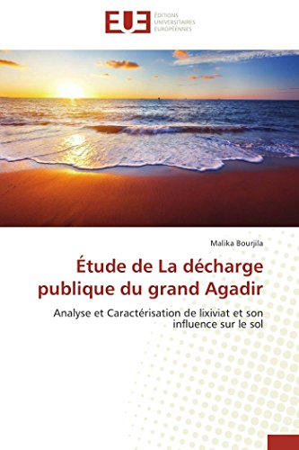 and#xef;and#xbf;and#xbd;tude de la Dand#xef;and#xbf;and#xbd;charge Publique Du Grand: Bourjila-M