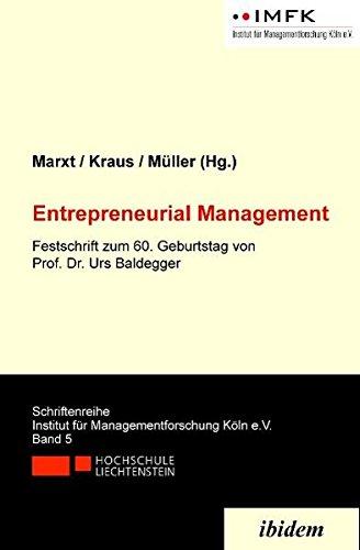 Entrepreneurial Management (Paperback)