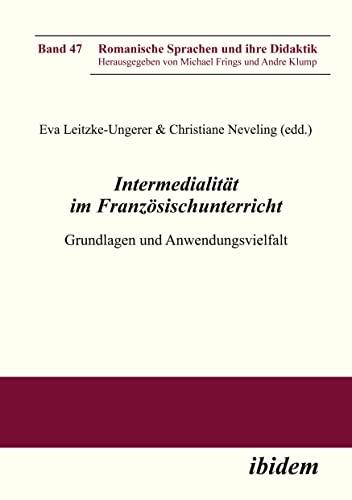 9783838204451: Intermedialität im Französischunterricht: Grundlagen und Anwendungsvielfalt