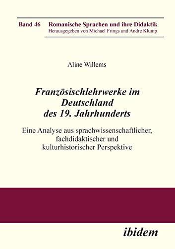 Französischlehrwerke im Deutschland des 19. Jahrhunderts: Aline Willems