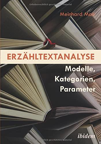 9783838207193: Erz�hltextanalyse: Modelle, Kategorien, Parameter