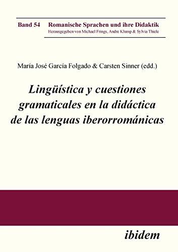 Lingüística y cuestiones gramaticales en la didáctica: Carsten Sinner