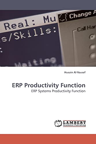 Erp Productivity Function: Husain Al-Yousef