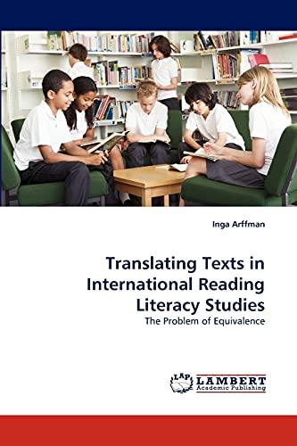 Translating Texts in International Reading Literacy Studies: Inga Arffman