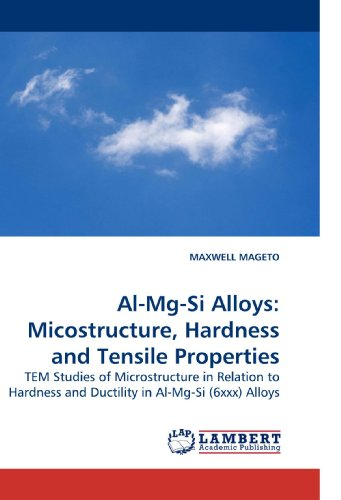 9783838329222: Al-Mg-Si Alloys: Micostructure, Hardness and Tensile Properties: TEM Studies of Microstructure in Relation to Hardness and Ductility in Al-Mg-Si (6xxx) Alloys