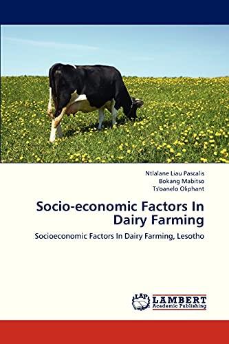 Socio-Economic Factors in Dairy Farming: Ntlalane Liau Pascalis