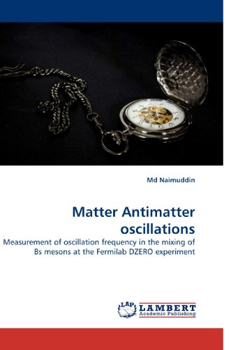 Matter Antimatter oscillations: Measurement of oscillation frequency in the mixing of Bs mesons at ...