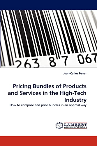 Pricing Bundles of Products and Services in: Juan-Carlos Ferrer