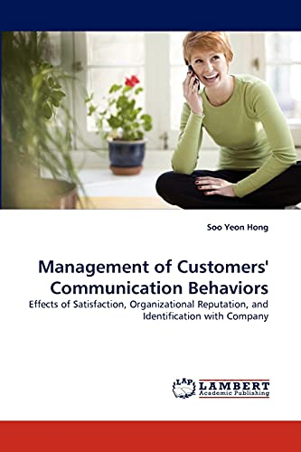 Management of Customers Communication Behaviors: Soo Yeon Hong
